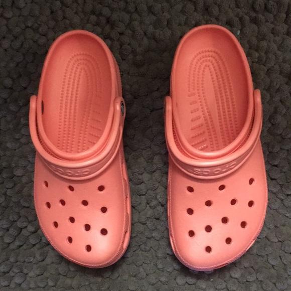 CROCS Shoes   Coral Crocs   Poshmark